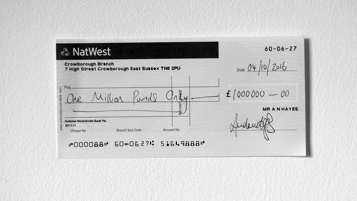 how to write a natwest cheque out